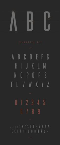 Font of the day: Ailerons