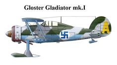 Finnish Gloster Gladiator, pin by Paolo Marzioli