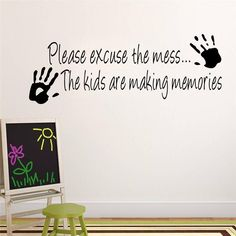 We all know how making memories go... Shop this wall decal and more  today!