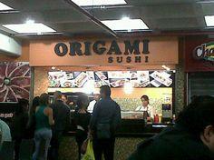 Restaurantes en Caracas » Restaurantes en Caracas – Origami Sushi Chacaito Sushi, Origami, Caracas, Restaurants, Sushi Rolls