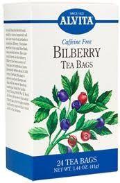 Alvita Bilberry Tea 24 Bags