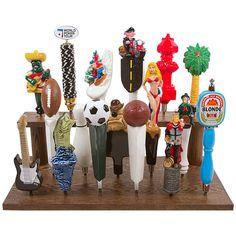 Beer Tap Handle Display Stand - Holds 17 Handles