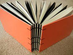 Kate's Creative Saga: Process: Exposed Spine Bookbinding