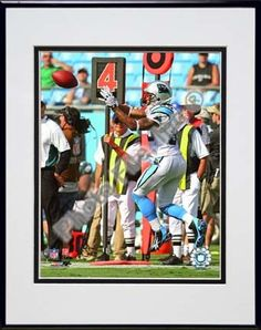 Steve Smith 2009 Action Carolina Panthers Catching Double Matted 8â€� x 10â€� Photograph in… #SportingGoods #SportsJerseys #SportsEquipment