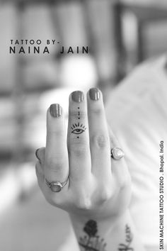Evil eye tattoo by Naina Jain at Skin Machine Tattoo Studio Thanks for looking :) Your Views,Comments and Shares would be appreciated ! For more information visit and like us at - Skin Machine Tattoo Studio . Bhopal. India — at Skin Machine Tattoo Studio, 10 No.