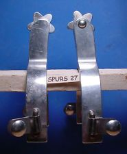 Vintage Airplane Metal Aluminum Spurs with Star Rowels You can find this on EBAY and we are seller OLDWEST To find this item number go to the ADVANCED Search and put in the item number and or the item description. You are welcome to make us an offer.