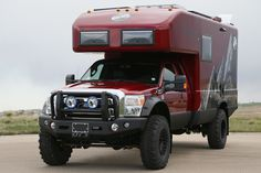They even come in red.      EarthRoamer A Global Leader in Xpedition Vehicles