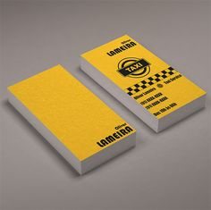 15 Business Card Designs For Taxi