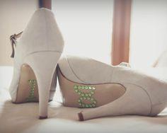La boda de Sara y Pablo #boda #zapatos
