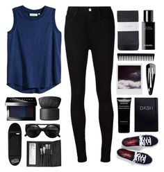 """Untitled #62"" by maayan-styles ❤ liked on Polyvore featuring H&M, AG Adriano Goldschmied, Givenchy, Keds, Polaroid, NLY Accessories, GHD, Hobbs, Chanel and NARS Cosmetics"