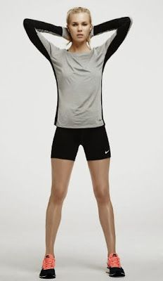 Fashionista Smile: Tonica in 7 Mosse con Nike Collection - Fall 2013