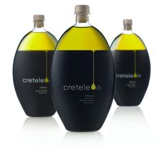 """Creteleon is a Premium Organic Extra Virgin Olive Oil produced on the island of Crete. It is the ""child"" of a family with passion and love for olive oil for more than four generations, with emphasis on quality and the organic process."" T&E Polydorou Design designed a creative label that showcases the unique bottle design and that also protects the contents within. The design was conceived to attract a consumers attention and communicate the simplicity of form and ..."