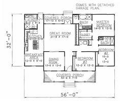 House Plan chp-16803 at COOLhouseplans.com