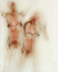 Bryan Christie, print and encaustic