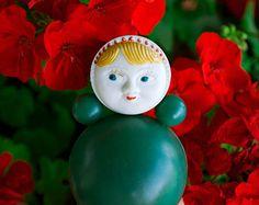 1960's Soviet Tilting Doll / Rare 13'' by LittleMonstersStore