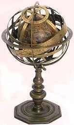 Armillary Sphere~not really steampunky, but it wouldn't fit in on any of my other boards! :)