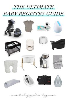 The Ultimate Baby Registry Essentials Baby Registry Essentials, Best Baby Registry, Baby Registry Checklist, Preparing For Baby, Baby Hacks, Toddler Toys, Baby Toys, Maternity Fashion, New Moms
