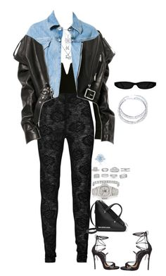 """Untitled #796"" by klayvic ❤ liked on Polyvore featuring Gucci, Dsquared2, Balenciaga, Tiffany & Co., Patek Philippe, Gregg Ruth, Chopard, Morris & David, Van Cleef & Arpels and De Beers"