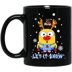 Minion Mississippi Valley State Delta Devils Mug Christmas Let It Snow Coffee Mug Tea Mug