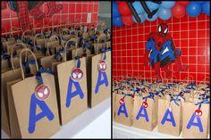 Lembrancinhas - Festa Homem Aranha