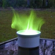 Learn How To Make Green Fire: Green fire is easy to make and doesn't require any hard-to-find chemicals.
