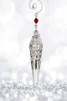 Waterford Crystal, 2017 Icicle Crystal Ornament Reg. $65 on Cash's