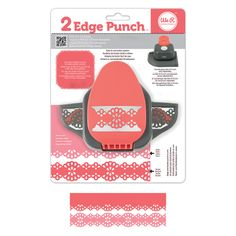 We R Memory Keepers - 2 Edge Punch Border and Corner Punch - Doily at Scrapbook.com