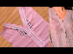 DESIGNER NECK || STYLISH NECK CUTTING & STITCHING || KURTI NECK DESIGN || KURTI NECK FOR SUMMER - YouTube
