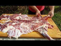Cum se face pastrama de oaie - YouTube Pork, Turkey, Meat, Youtube, Kale Stir Fry, Turkey Country, Pork Chops, Youtubers, Youtube Movies