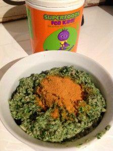 Dips - Pumkin seed Pesto Superfood for Kidz