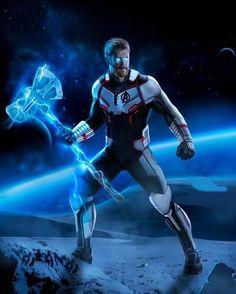 Thor avengers 4 fanart by : marvelstudios Marvel Wolverine, Marvel Avengers Comics, The Avengers, Captain Marvel, Marvel Dc, Marvel Fanart, Mundo Marvel, Avengers Imagines, The Mighty Thor