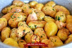 Pommes de terre ratte sautées à l'ail   Petits Plats Entre Amis