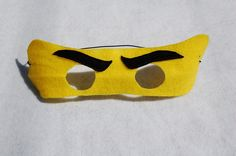 Ninjago / Ninja Party Favors  Felt Mask.  Set von NanandGeFavors