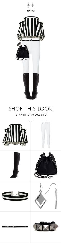 """""""White Jeans For Spring"""" by ittie-kittie ❤ liked on Polyvore featuring Milly, rag & bone, Stuart Weitzman, Valentino, Miss Selfridge, Spring Street, Yves Saint Laurent, Spring, whitejeans and SpringStyle"""