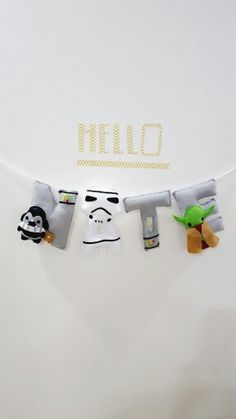 Star wars theme name banner