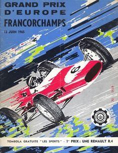 134GP - XXV Grand Prix de Belgique - XXV Grand Prix d'Europe - 1965