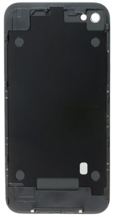 ATT iPhone 4 Glass Back Cover Glass Assembly Replacement - Black - This Back Housing Glass Cover for ATT iPhone 4 has a glossy back finish. It was Preattached to back cover FRAME so you don't have to do it yourself. High quality design with