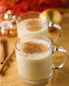 Eggnog Chai Smoothie.  Not eggnog, make it into a chai tea smoothie