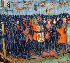 The Battle of Hattin, from a 15th-century manuscript. The Battle of Hattin of July 4th, 1187 saw Saladin's forces inflict a huge defeat over the army of the Latin Kingdom of Jerusalem. The impact on the history of the crusader states was decisive: within months, Jerusalem had fallen.