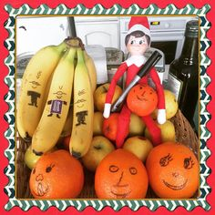 Elf On The Shelf, Wonderful Time, Christmas Time, Tours, Food And Drink, Banana, Shelf Ideas, Kids, Elves
