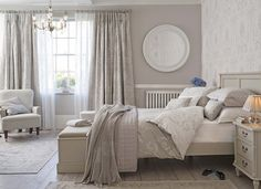 Josette Dove Grey bedroom