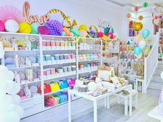Brighton's best party store is 1 Year Old and we're celebrating with our best selection of party decorations and of course, cake!