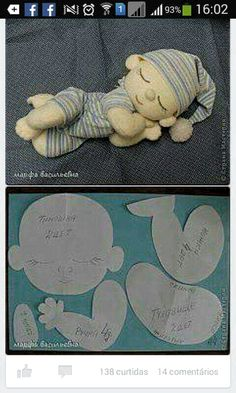 Surprising things you can do with baking soda Doll Crafts, Diy Doll, Sewing Crafts, Sewing Projects, Rag Doll Tutorial, Homemade Dolls, Sewing Dolls, Soft Dolls, Fabric Dolls