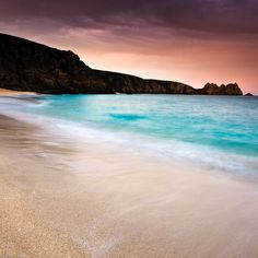 Porthcurno Beach, Cornwall. one of my favourite places.