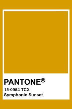 PANTONE 15-0954 TCX Symphonic Sunset #pantone #color Pantone Colour Palettes, Pantone Color, Paint Swatches, Color Swatches, Pantone Tcx, Yellow Pantone, Colour Pallette, Colour Board, Color Of Life