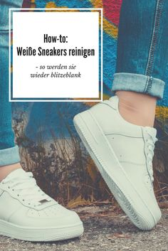 How-to: Weiße Sneaker wieder sauber bekommen. So werden sie schnell wieder blitzblank! Fitness Workouts, Nike Air Force One, Clothing Hacks, Diy Cleaning Products, Hacks Diy, Good To Know, Keep It Cleaner, Life Hacks, Sneakers Nike
