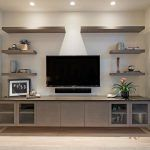 Living Room Shelves Around Tv Tv Walls Entertainment Center Ideas ideen wandgestaltung regal Living Room Entertainment Center, Entertainment Wall, Contemporary Entertainment Center, Living Room Shelves, Living Room Tv, Wall Shelves, Tv Shelving, Shelves Around Tv, Tv Wand