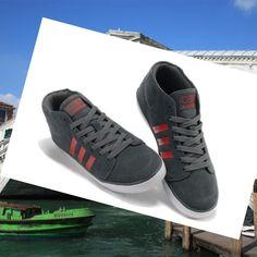 Adidas Originals Stile NEO Mid Scarpe da Uomo Grigio/Rosso