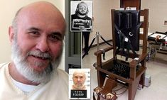 Murderer Edmund Zagorski executed in the electric chair in Tennessee