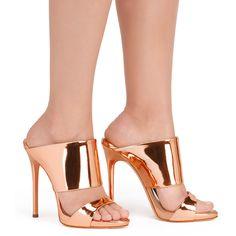 Andrea - - Gold Pink | Giuseppe Zanotti ®